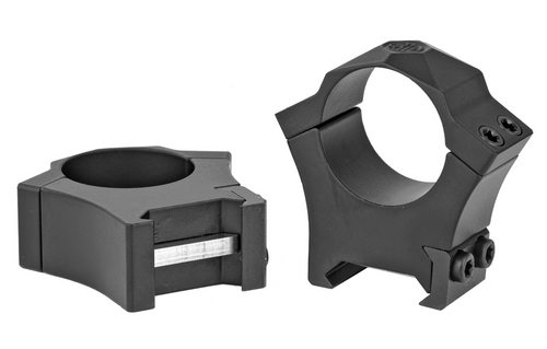 "SIG OPTICS SCOPE RINGS ALPHA 1 1"" STEEL HIGH BLACK MATTE - SOA10008"