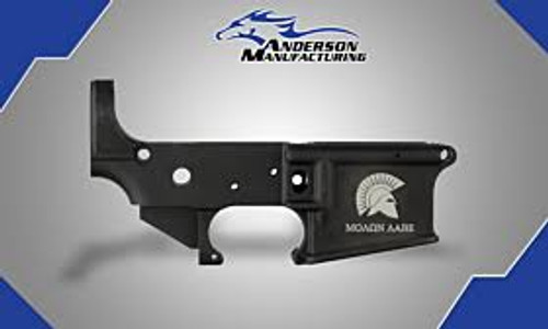 "Anderson Spartan ""Molon Labe"" Stripped Lower Receiver - D2-K067-A005-0P"