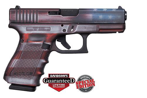 Glock 19 GEN4 9MM CKBWFLAG - ACG-00824