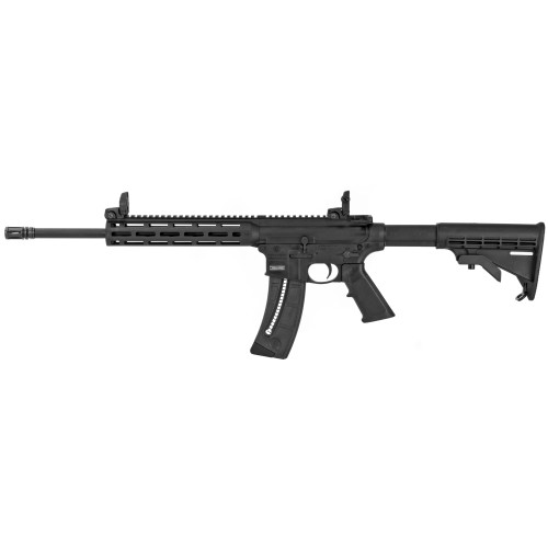 """Smith & Wesson M&P15-22 22lr 16"""" Flip Up Sights 25rd 10208"""