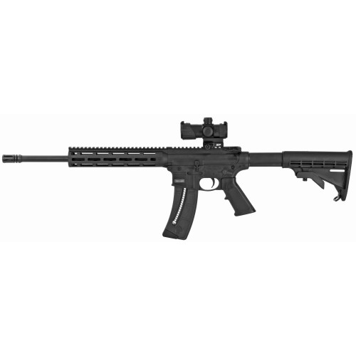 Smith and Wesson M&P15-22 22lr 1 25rd MP400 Red/Green Dot 12722