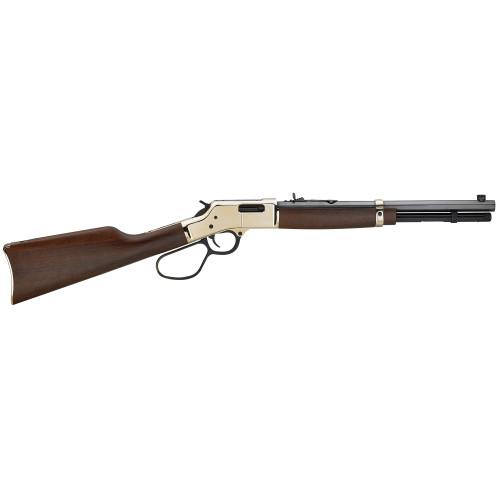 """Henry Big Boy Brass Carbine Big Loop 16.5"""" Walnut 44mag/ 44spl - H006R"""