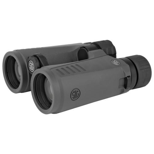 Sig Sauer Zulu7 Binocular 8X42mm Open Bridge Graphite - SOZ78001