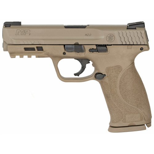 Smith & Wesson M&P M2.0 9mm 17Rd FDE TFX Nights - 11767