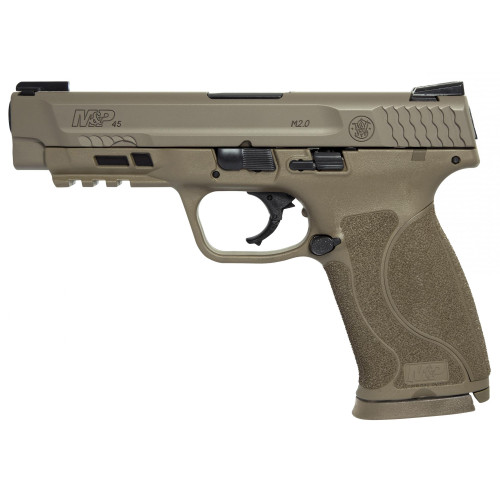 Smith & Wesson M&P M2.0 45acp 10Rd FDE TFX Nights - 11769