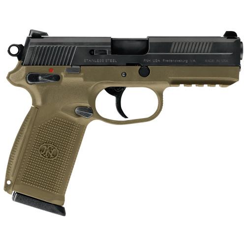 """FN FNX-45 45ACP 4.5"""" FDE FS Safety 15rd - 66964"""