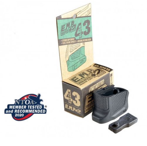 Strike Industries Extended Mag Plate Glock 43/43X