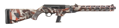 """Ruger PC Carbine 9mm 16"""" 17rnd US Flag TD - 19121"""
