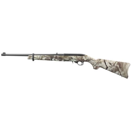 "Ruger 10/22 Carbine, 22 LR, 18.5"" Threaded Barrel, Go Wild Camo Rock Star w/Soft case  31113"