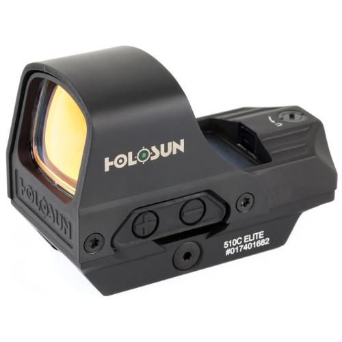 Holosun Open Reflex 65 MOA Circle Dot Solar Green HE510C-GR