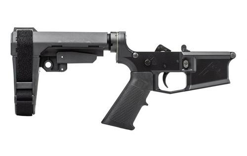 Aero Precision M4E1 Complete Pistol Lower A2 Grip & SBA Brace APAR600134