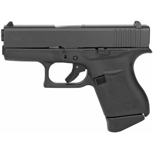"""Glock 43 9mm 3.41"""" FS 2 6rd UI4350201"""