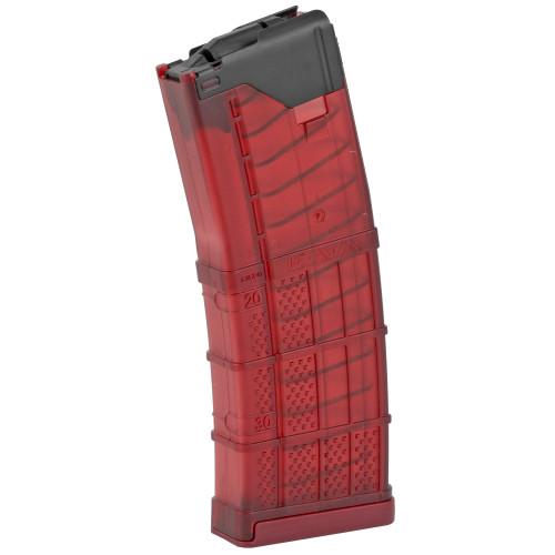 Lancer Magazine L5AWM 30 AR-15 5.56X45 30rd Trans Red 2320-54 738435619770 999-000-2320-54
