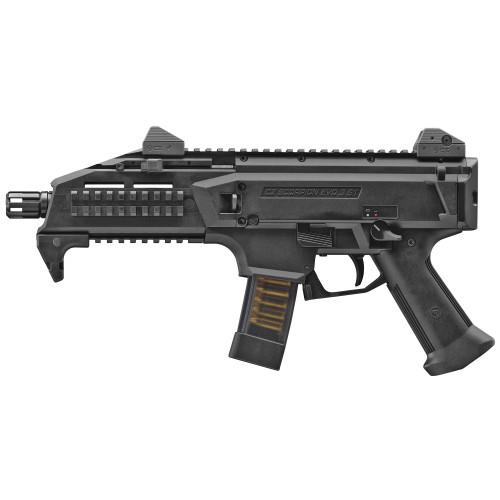 """CZ Scorpion Pistol 9mm EVO3 S1 7.75"""" TB Black -91351"""