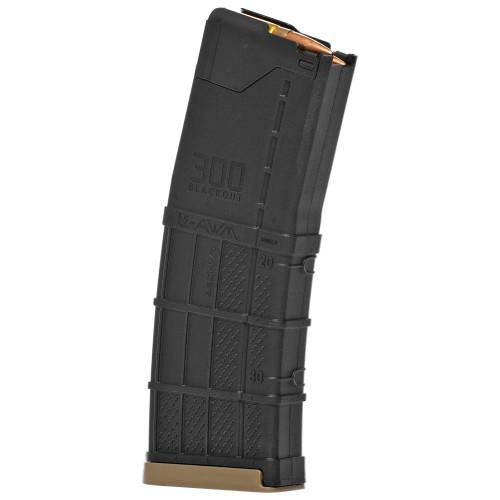 Lancer Magazine L5AWM AR-15 300BLK 20rd Opaque Black 738435619503 999-000-4280-05