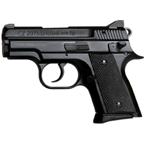 "CZ RAMI 9MM BD DA/SA Compact 3"" Alloy Black FNS 2 Mags 10rd 14rd 91754"
