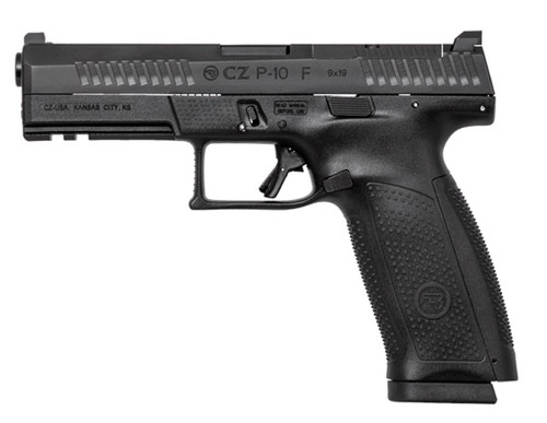 "CZ P-10F 9MM 4.5"" Full Size 10rd Black - 05150"