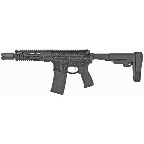 "Primary Weapons Systems MK107 223WYLDE MOD 2-M Pistol 7.75"" SBA3 BCM Grip 30rd 20-2M107PA1B"