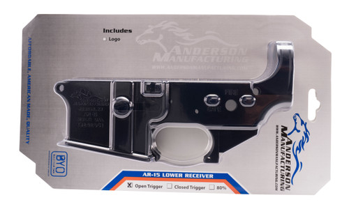 Anderson Stripped Lower Receiver - D2-K067-A000-0