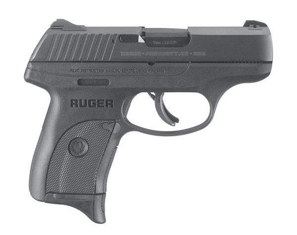 "Ruger LC9S 9mm 3.1"" TS FS 1 7rd 03235"