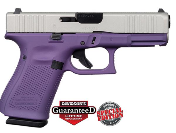 Apollo Custom Glock 19 Gen5 Purple w/Shimmering Cerakote ACG-57026