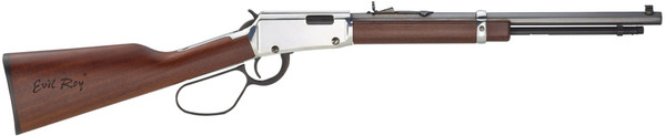 """Henry Frontier Carbine Evil Roy Edition 22mag 16.5"""" 9rd Silver LLoop H001TMER"""