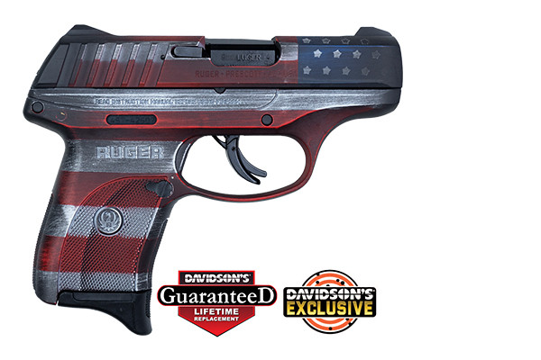 "Ruger EC9s 9mm 3.1"" Distressed Flag DE 13213"