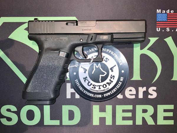USED - Glock 21 SF Gen3 w/3 mags Night Sights Blue Label PF2150202