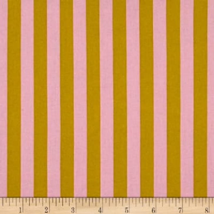 All Stars Stripe Marigold Tula Pink Cotton Quilting Fabric 1/2 YARD