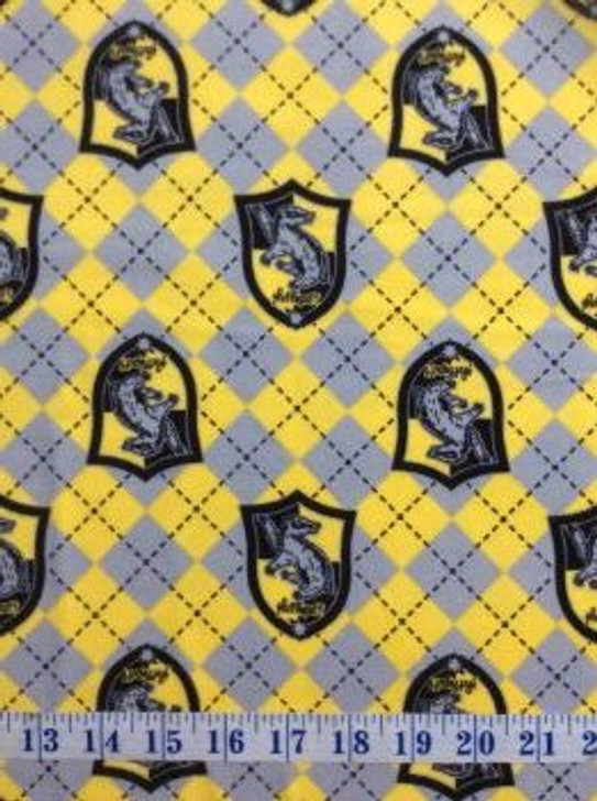 Flannel Cotton Harry Potter Fabric