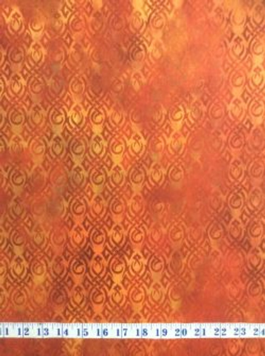 Dragons Red Fury In The Beginnings Flames Cotton Quilting Fabric 1/2 YARD