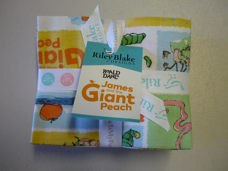 James and the Giant Peach 10 Piece Fat Quarter Bundle Cotton Quilting Fabric