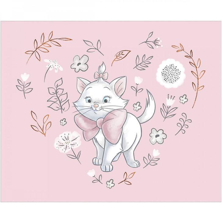 Disney Sentimental Aristocats Sweet Marie Copper Metallic Highlights Cotton Quilting Fabric Panel