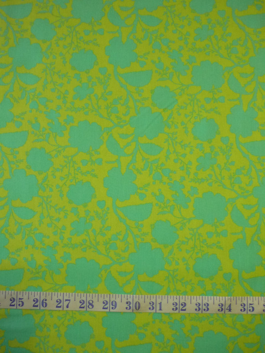 True Colours Wildflower Spring Tula Pink Cotton Quilting Fabric