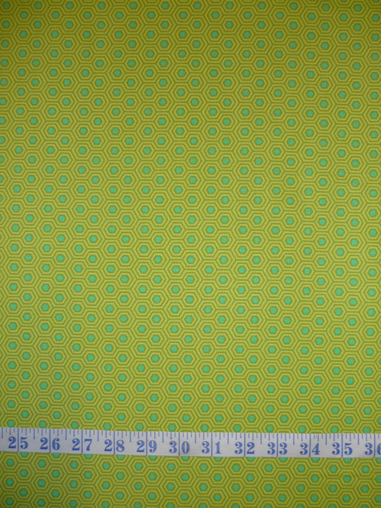 True Colours Hexy Chameleon Tula Pink Cotton Quilting Fabric