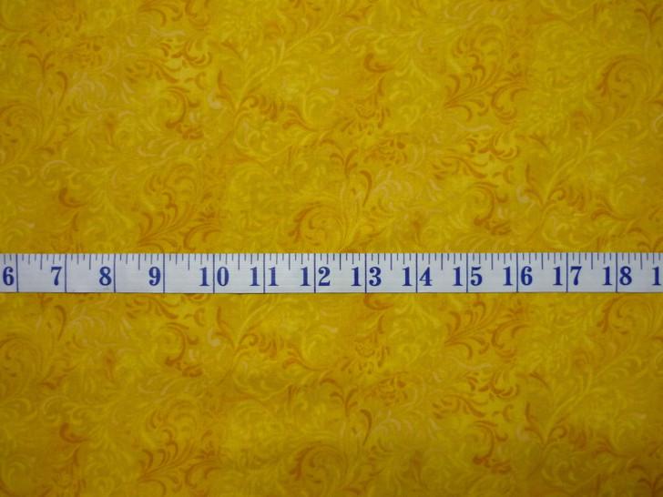 Embellishment Gold - Essentials Cotton Quilting Fabric 1/2 YARD