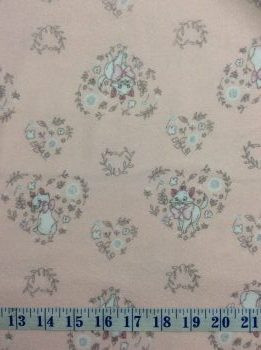 Disney Aristocats Marie Signs Tossed 100/% Cotton Fabric 1 Yard