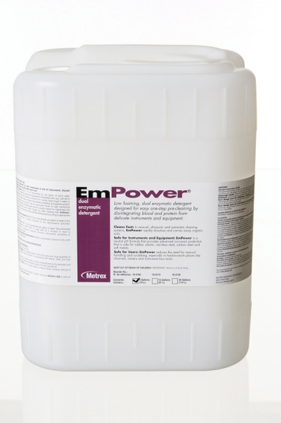 Metrex EmPower 10-4150 Dual Enzymatic Detergent - 5 Gallon