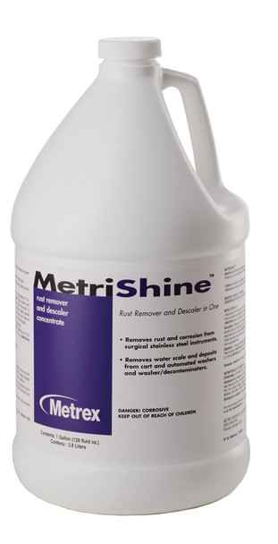 Metrex MetriShine 10-9300 Descaler & Rust Remover (Gallon)