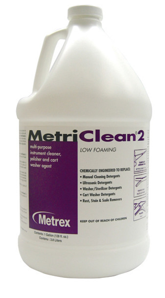 Metrex MetriClean 10-8100 Cleaner, Polisher & Washer Agent (Gallon)