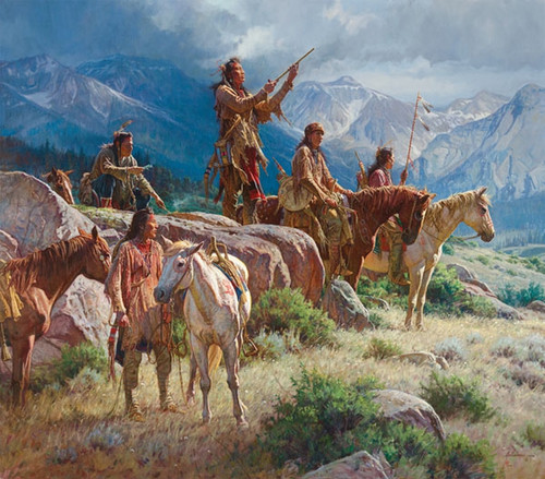 Prayers of the Pipe Carrier by Martin Grelle