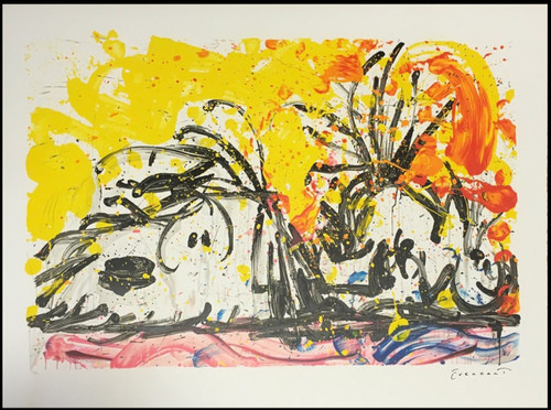 Blow Dry Limited Edition Lithograph by Tom Everhart