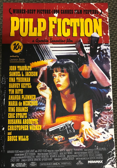 Pulp Fiction AFI Movie Poster Lithograph