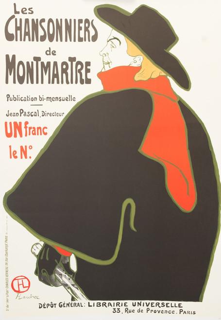Les Chansonniers de Montmartre Lithograph Henri de Toulouse Lautrec
