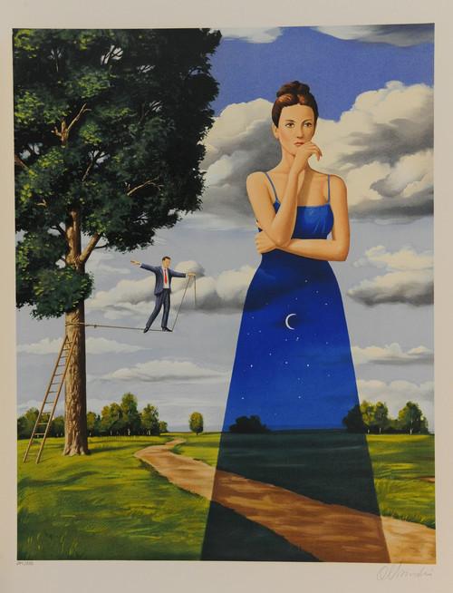 Midsummer Marriage by Rafal Olbinski