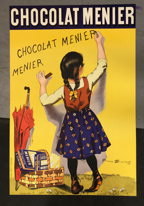 Chocolat Mernier Poster Lithograph