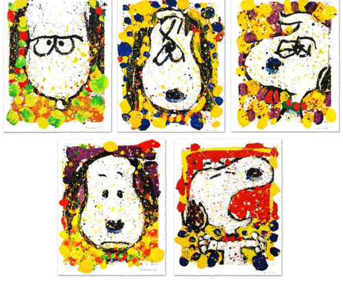 Tom Everhart Squeeze the Day Matching Number Set 249/500
