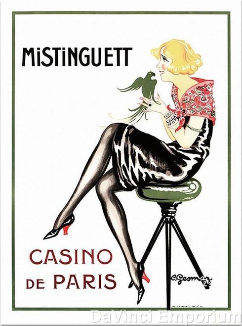 Mistinguett Casino de Paris Poster Fine Art Lithograph Charles Gesmar