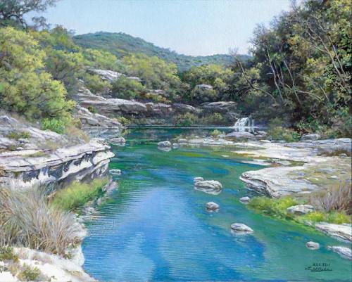 Emerald Stream by Larry Dyke