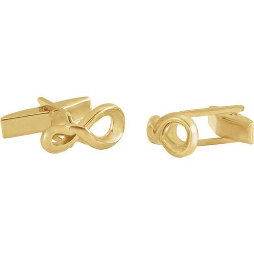 Classic Infinity Symbol Cufflinks